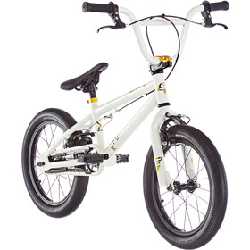 s'cool XtriX mini 16 Kinderen, white/gold